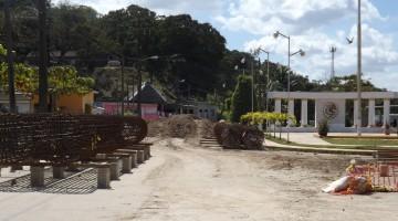 Villa Cuichapa Moloacan Ver.- Mas de tres semanas lleva parada la construccion del puente los soldados de Cuichapa.